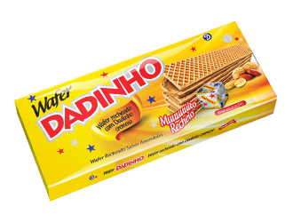 Wafer Dadinho Cremoso