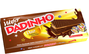 Wafer Dadinho DUO Chocolate